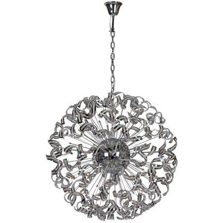 lustre luxueux design boule bandeaux 106cm myplanetled. Black Bedroom Furniture Sets. Home Design Ideas