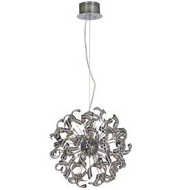 Luxe hanglamp design bol strips 70cm Ø G9x25