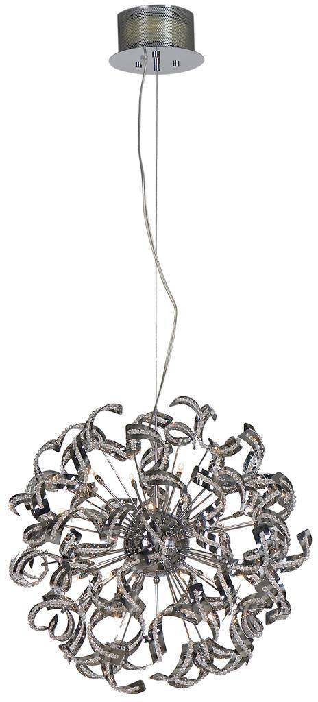 lustre boule design bandeaux 70cm g9x25 myplanetled. Black Bedroom Furniture Sets. Home Design Ideas