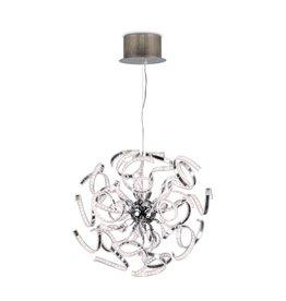 Modern pendant light LED chrome slings 144W