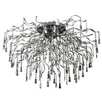 Plafonnier design cristal arraignée G4x22 110cm