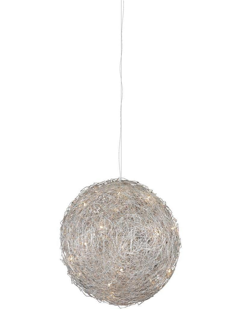 Ball pendant light wire 80cm diameter G4x15