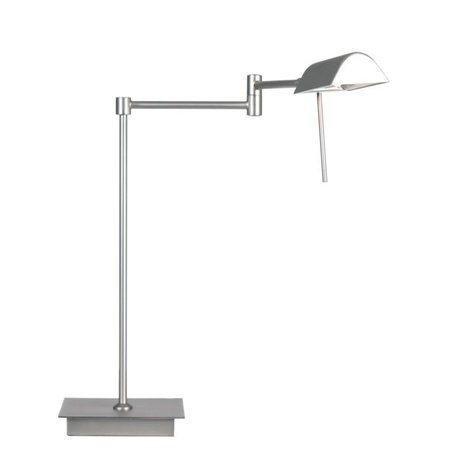 Modern desk lamp grey or brass orientable 38cm H