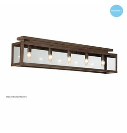 Rustic ceiling light glass beige, white, lead, taupe, gold 100cm