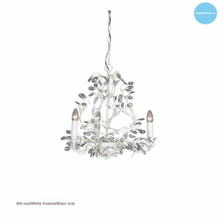 Chandelier pendant light black rusty beige white grey E14x3