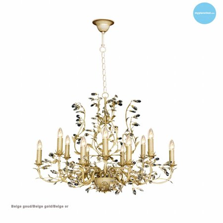 Oval pendant light chandelier several colours E14x12