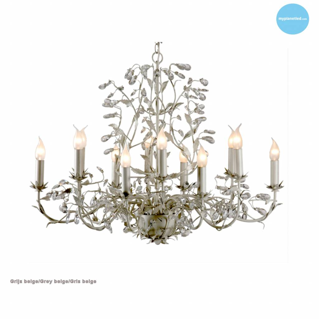 lustre baroque chandelier oval 7 couleurs e14x12 myplanetled. Black Bedroom Furniture Sets. Home Design Ideas