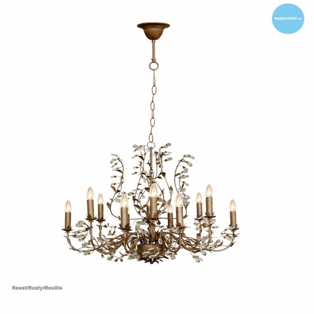 lustre baroque chandelier oval 7 couleurs e14x12 myplanetled. Black Bedroom Furniture Sets. Home Design Ideas