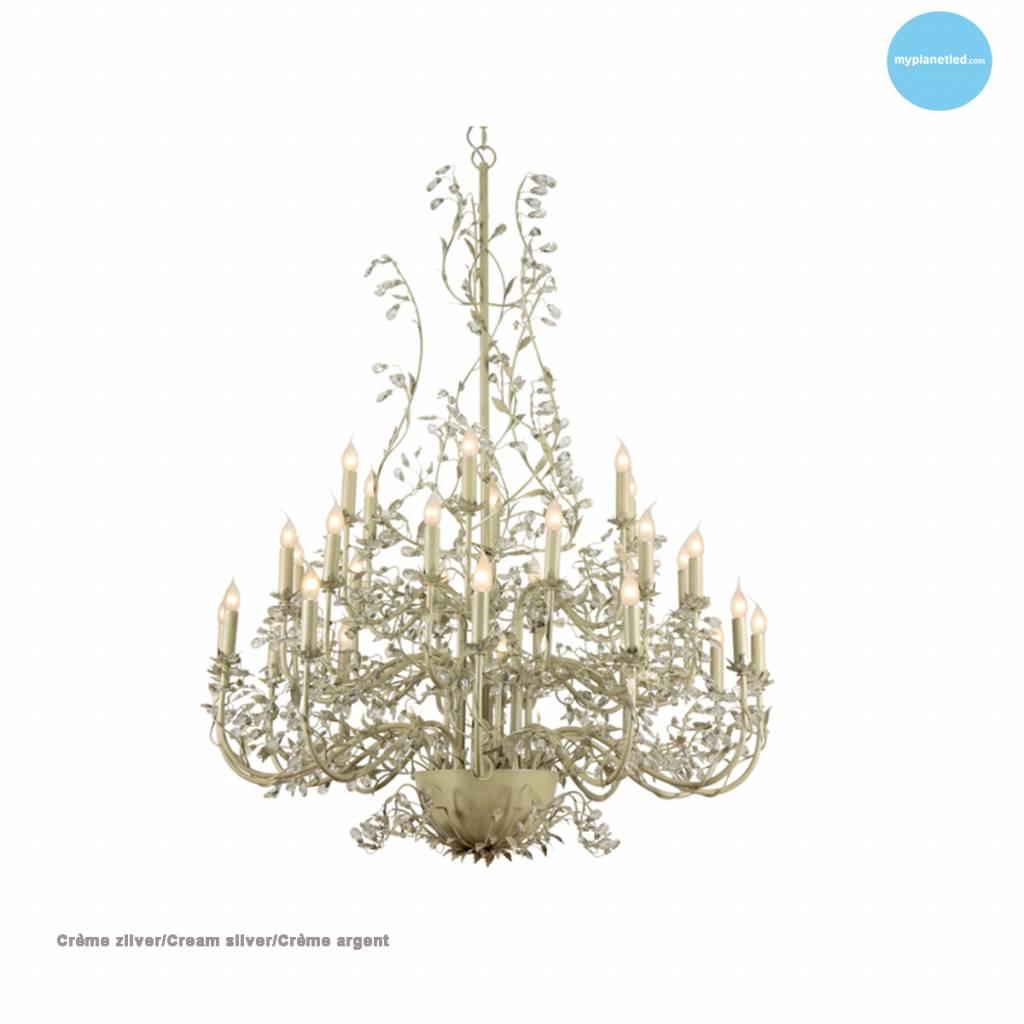 Lustre géant baroque chandelier E14x30 120cm Ø Myplanetled