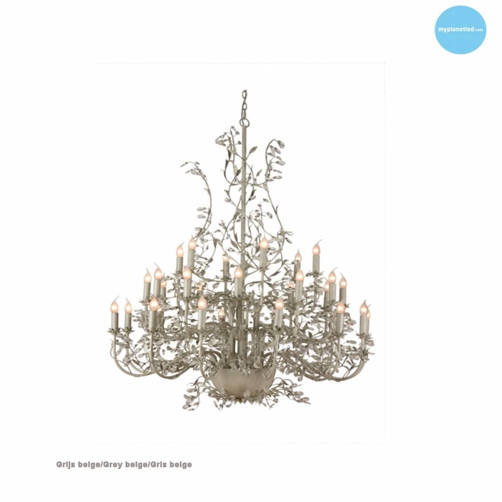 lustre g ant baroque chandelier e14x30 120cm myplanetled. Black Bedroom Furniture Sets. Home Design Ideas