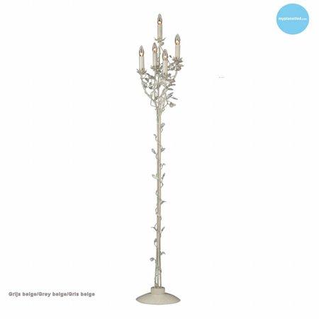 Klassieke staande lamp kandelaar 5 kaarslampen 180cm