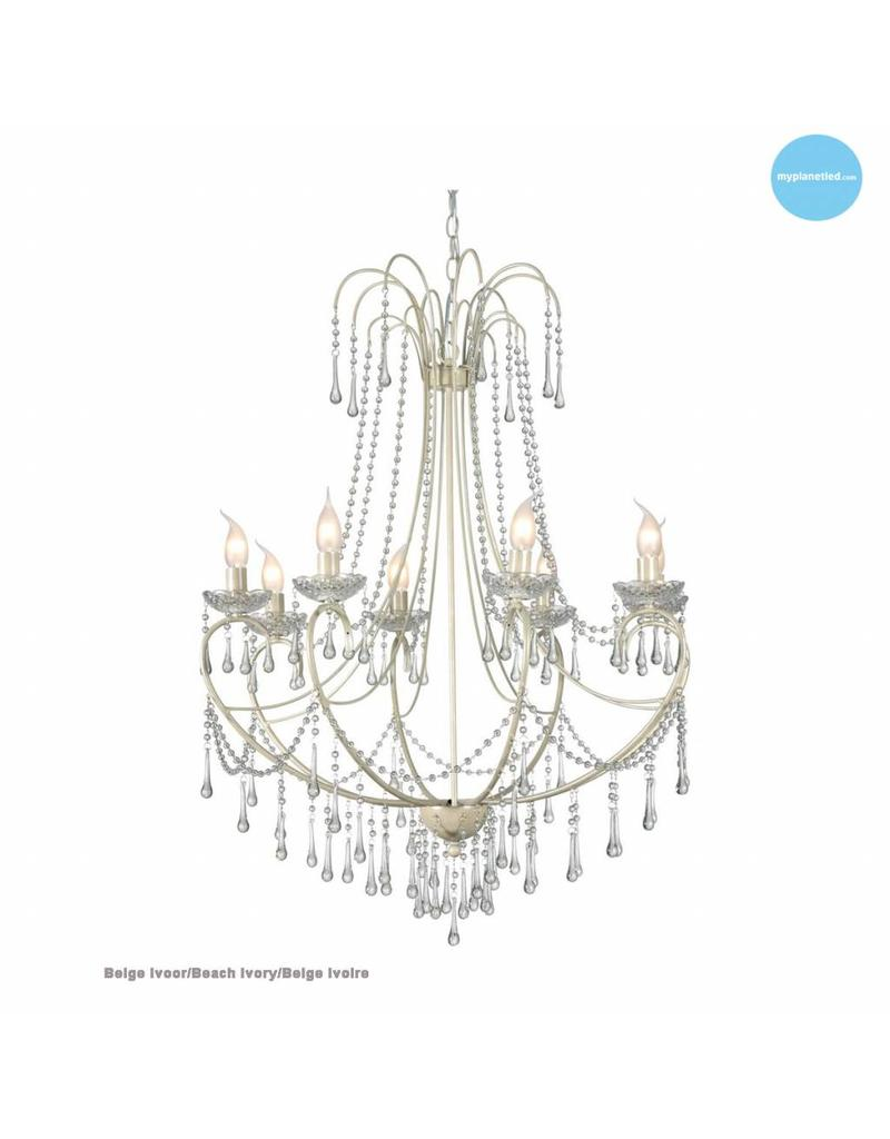 grand lustre chandelier cristal e14x8 102cm haut myplanetled. Black Bedroom Furniture Sets. Home Design Ideas