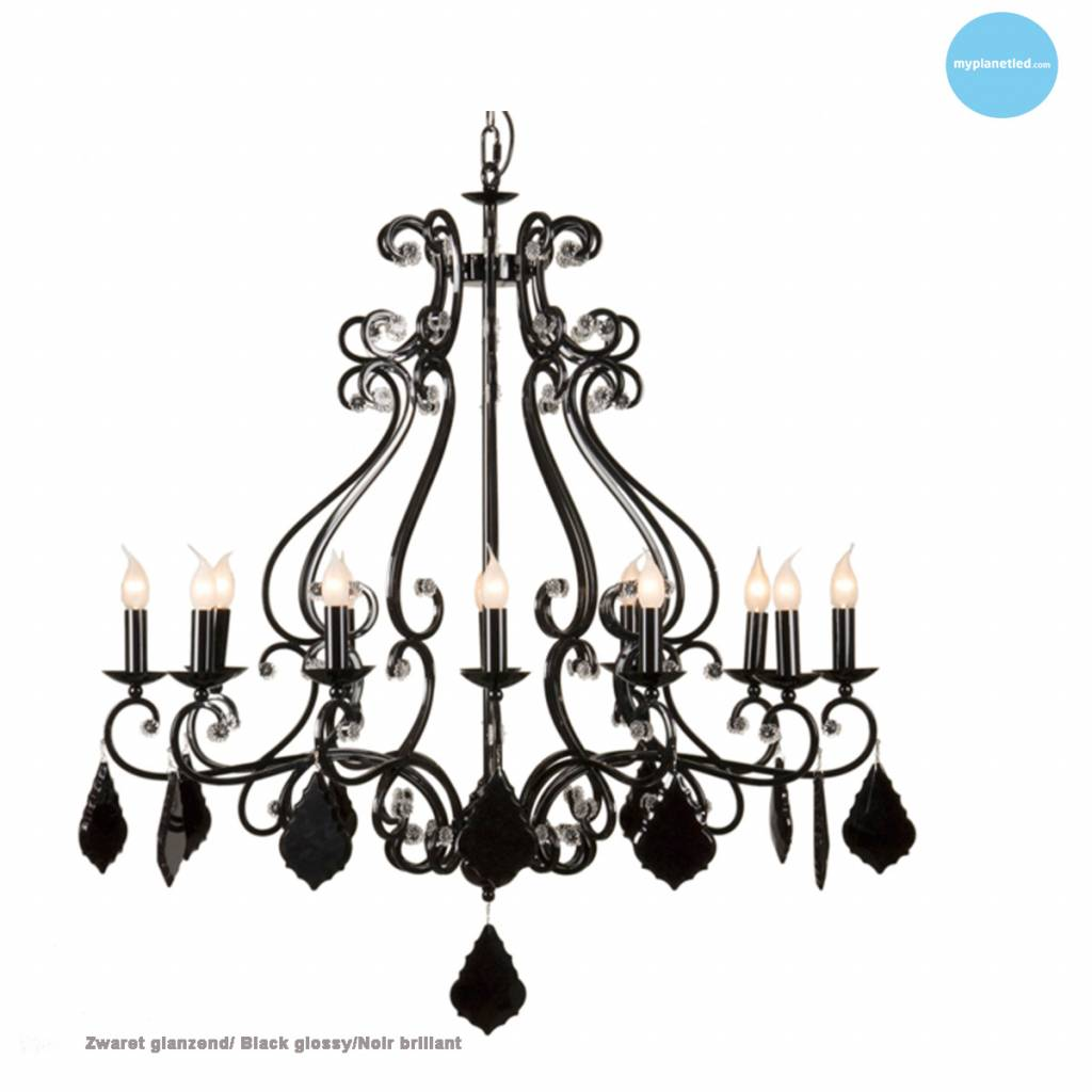 lustre chandelier noir gris blanc beige e14x12 105cm myplanetled. Black Bedroom Furniture Sets. Home Design Ideas