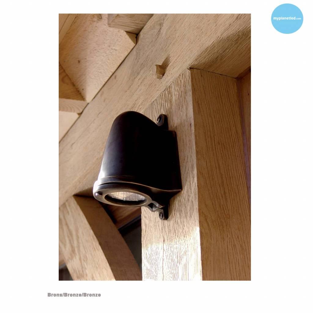 applique murale exterieure pas cher rustique 130mm h myplanetled. Black Bedroom Furniture Sets. Home Design Ideas