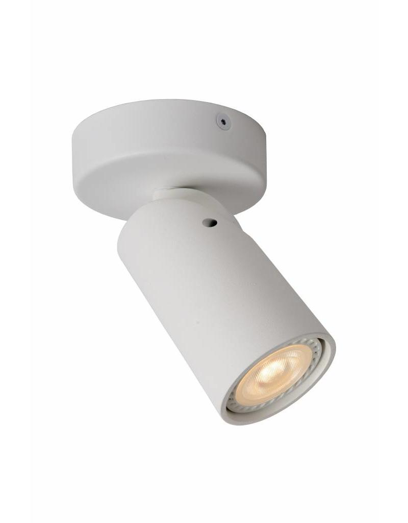 Cylinder ceiling light white or black orientable GU10x1