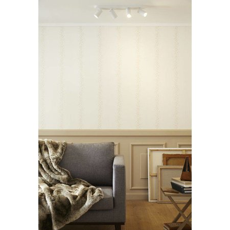 Design plafondspot wit, zwart richtbaar GU10x4