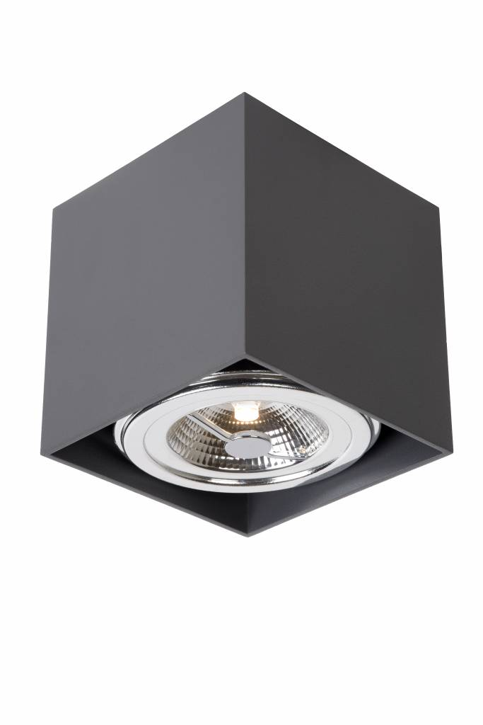 spot plafond led blanc gris orientable carr 12w myplanetled. Black Bedroom Furniture Sets. Home Design Ideas