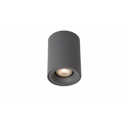 Design ceiling light LED white or grey round 4,5W GU10