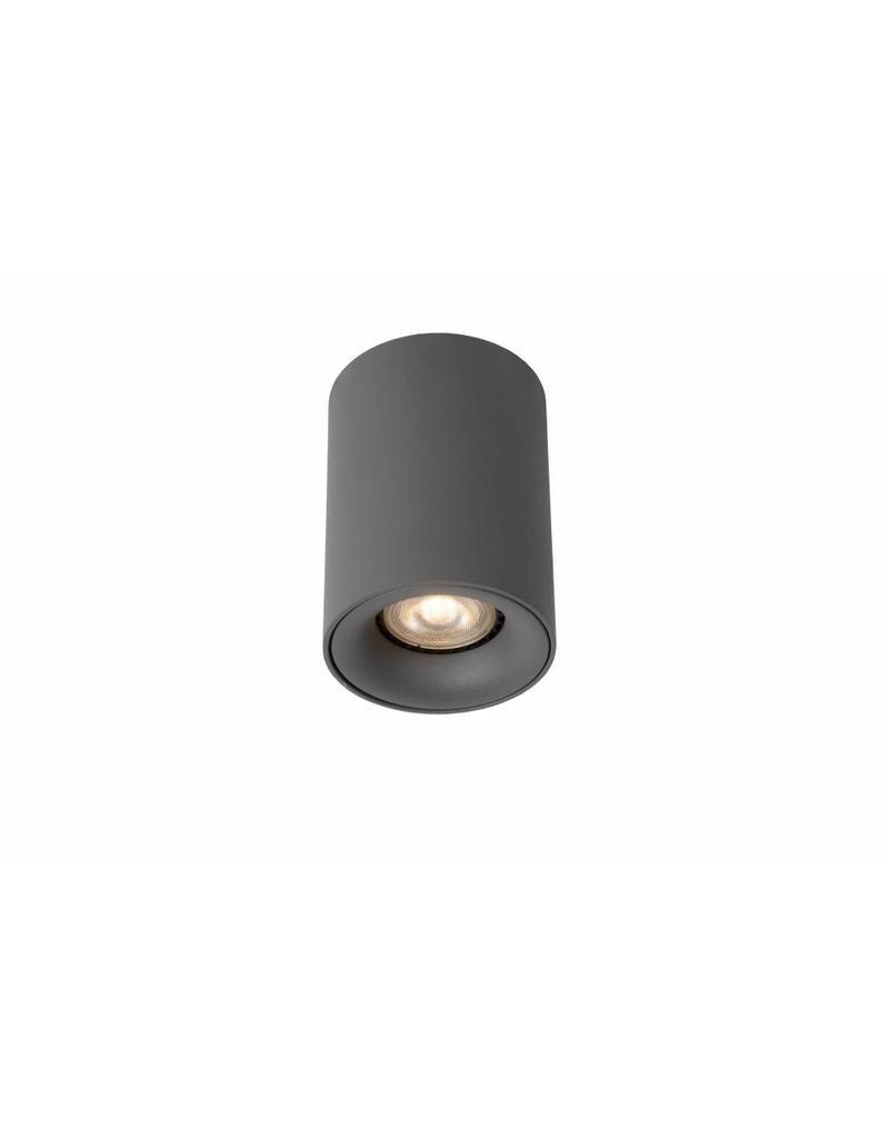 Design ceiling light LED white or grey round 4,5W GU10