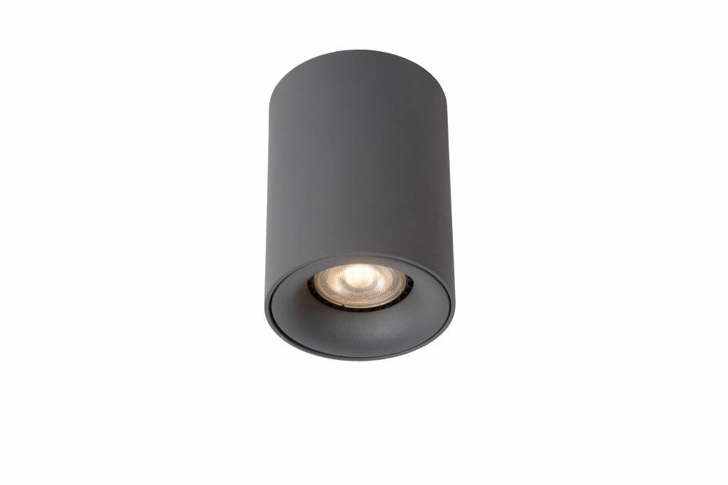 spot plafond led design blanc graphite rond 4 5w gu10. Black Bedroom Furniture Sets. Home Design Ideas