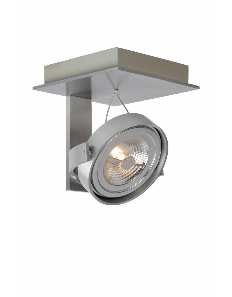 Ceiling light LED white or grey orientable AR111 12W