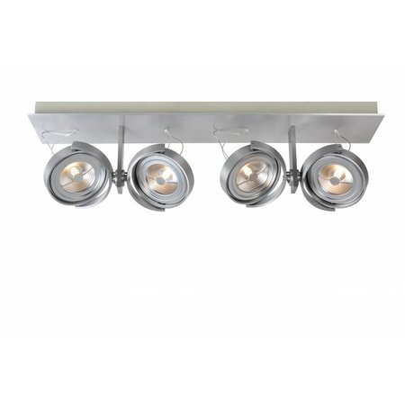 Ceiling light LED white or grey orientable 4x12W 67cm