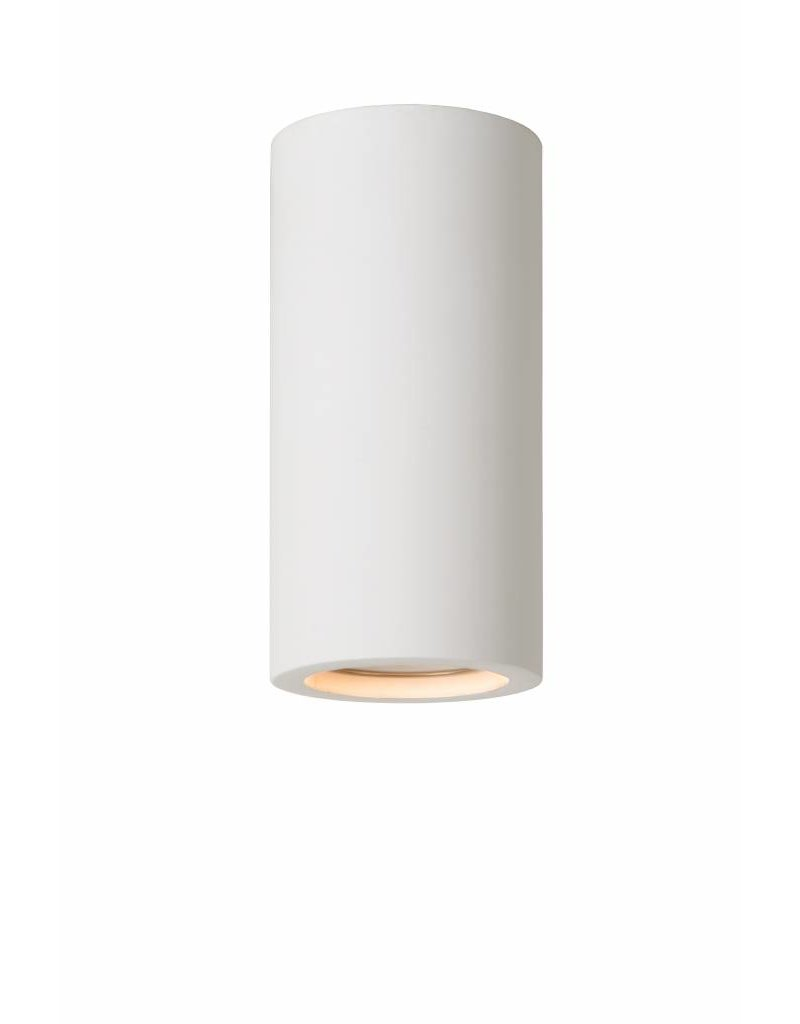 Ceiling light for kitchen plaster round 140mm H GU10