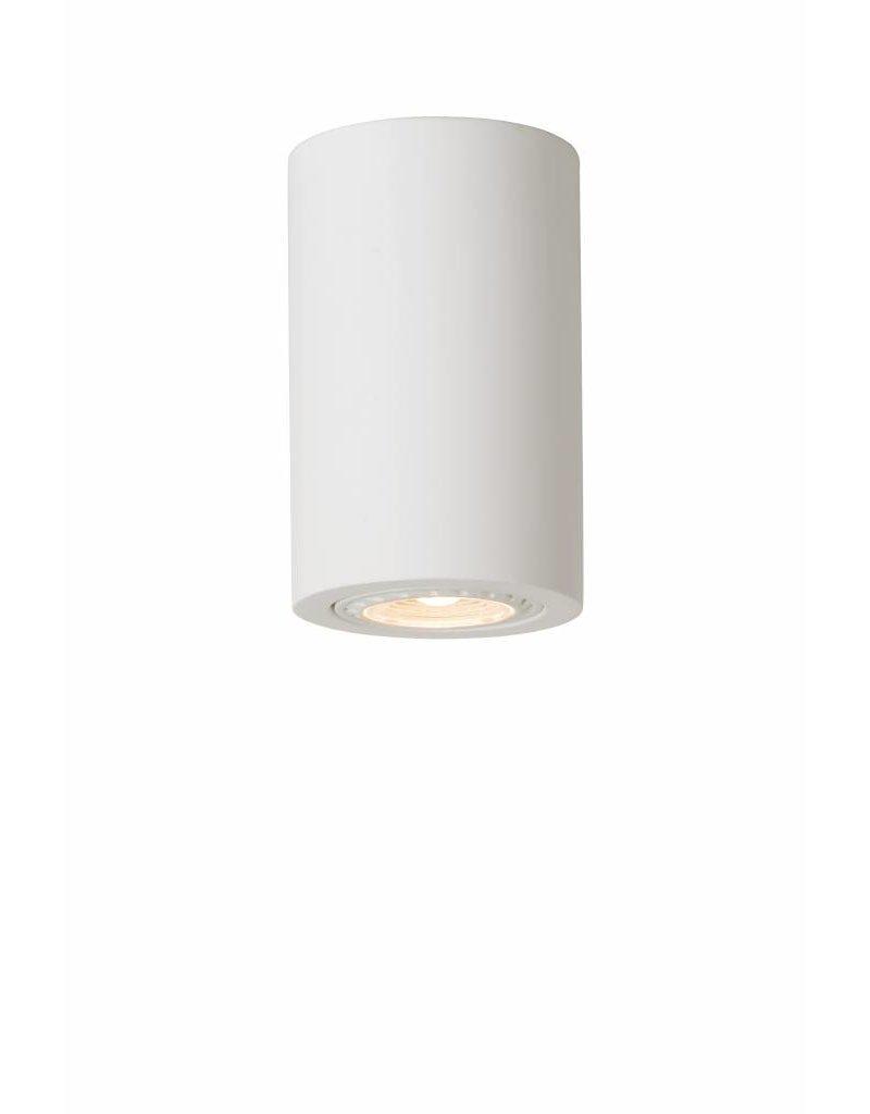 Ceiling light for kitchen plaster round 112mm H GU10