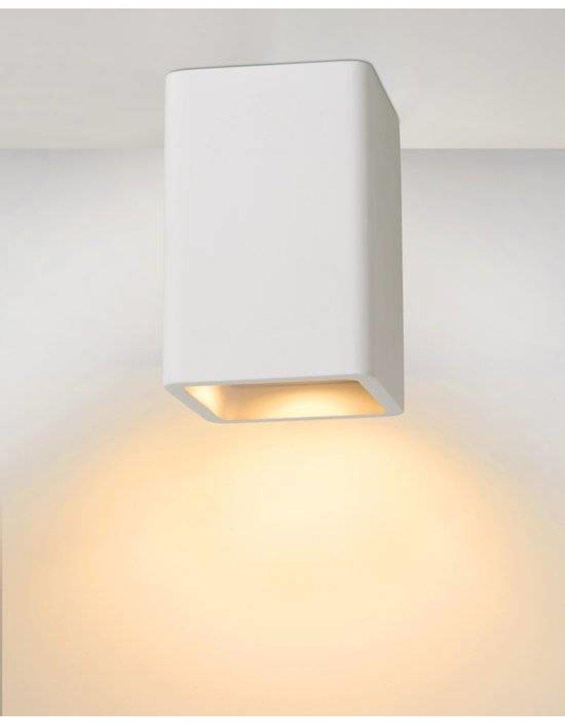 Ceiling light for kitchen plaster square GU10 135mm