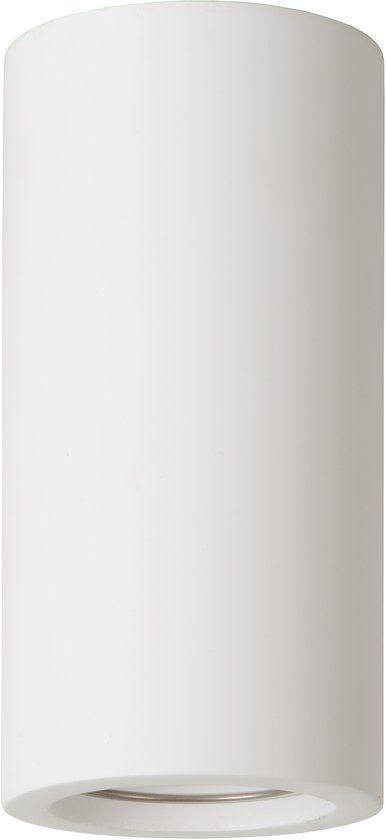 Ceiling light for kitchen plaster round 140mm H GU10