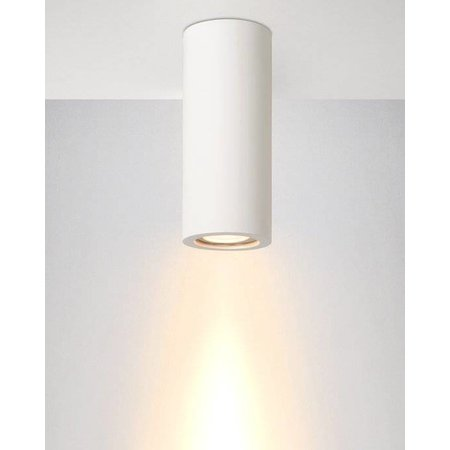 Ceiling light for kitchen plaster round 170mm H GU10