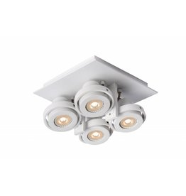 Ceiling light for kitchen grey or white GU10 LED 4x4,5W