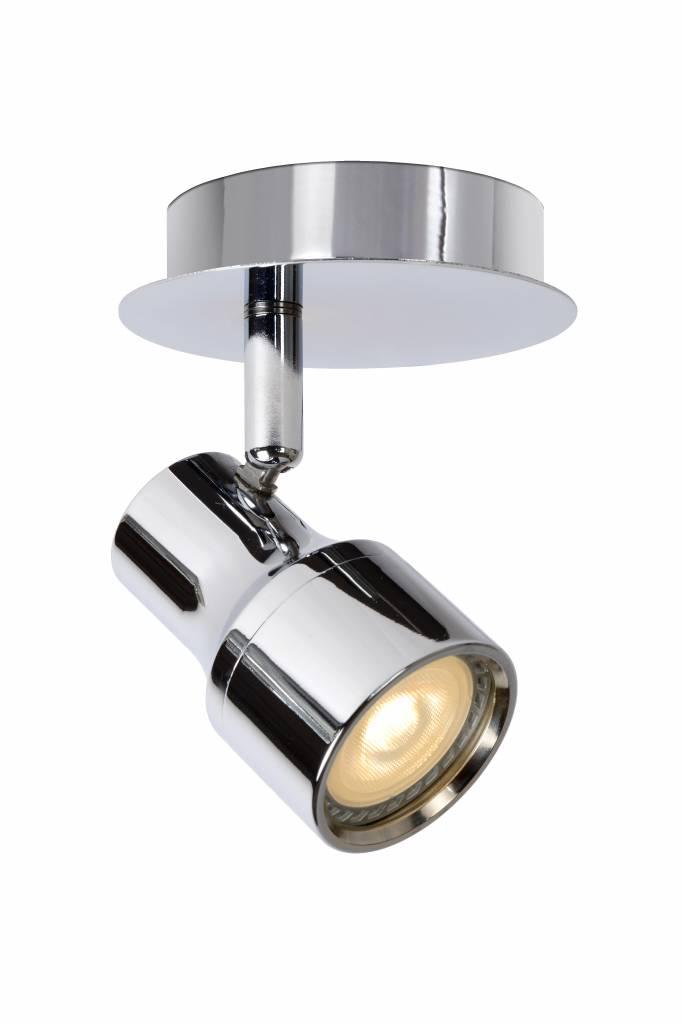 badkamer plafondlamp led wit of chroom gu10 4 5w myplanetled. Black Bedroom Furniture Sets. Home Design Ideas