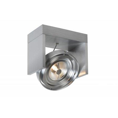 Plafondspot LED zwart, wit, grijs, hout AR111 12W