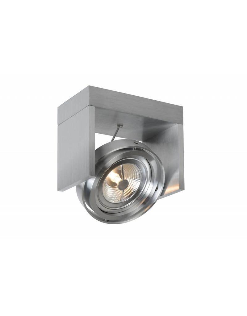 Ceiling light LED black, white, grey, wood AR111 12W