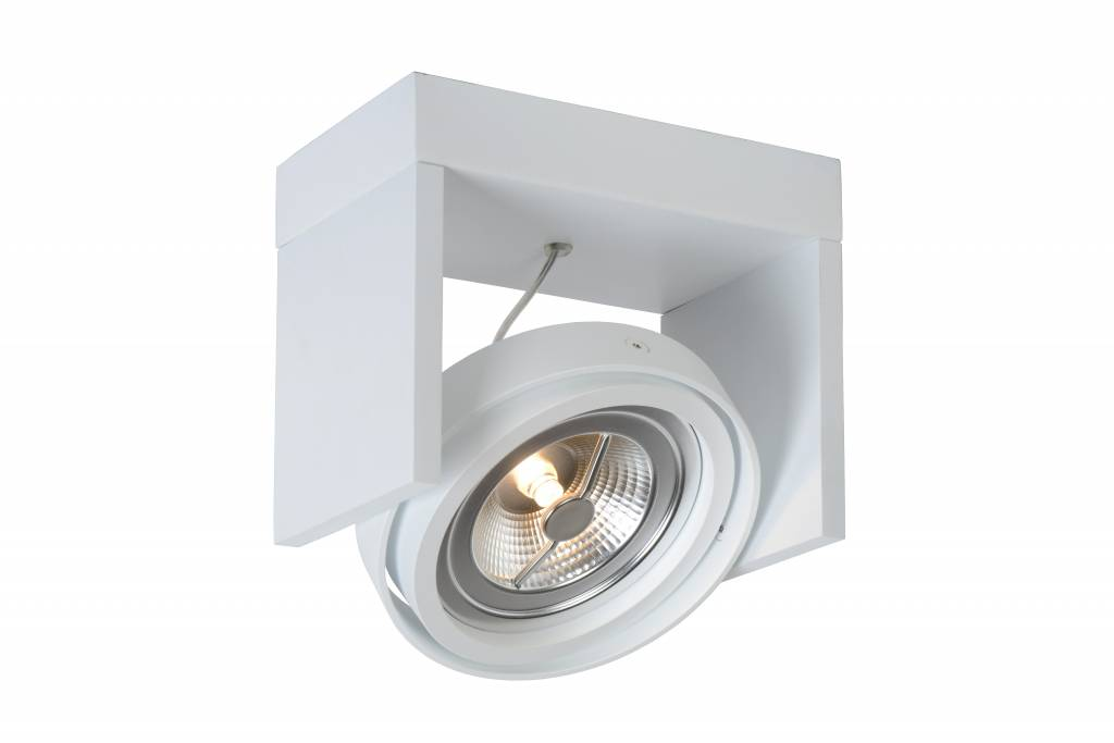 spot plafond led noir blanc gris bois ar111 12w myplanetled. Black Bedroom Furniture Sets. Home Design Ideas