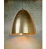 Dome pendant light gold or white 30cm diameter E27