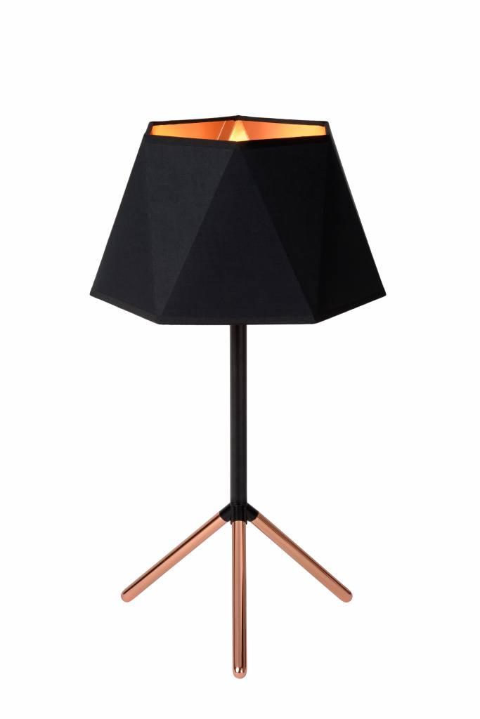 Design table lamp black gold lamp shade 32cm myplanetled design table lamp black gold lamp shade 32cm aloadofball Choice Image