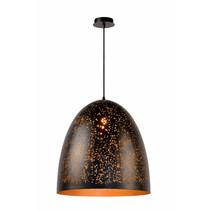 Lustre design noir doré 49cm diamètre E27