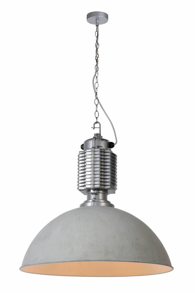 Hanglamp betonlook industrieel 60cm diameter E27 | Myplanetled