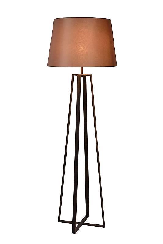 Populair Vloerlamp landelijk met kap E27 165cm H | Myplanetled #LN09