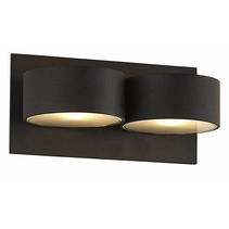 Wall light LED grey up down G9 2x2,6W 160mm wide