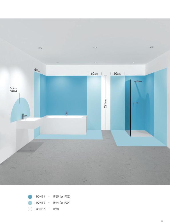 Eclairage salle de bain quels sont les diff rentes options et quels sont les points importants for Eclairage salle de bain norme
