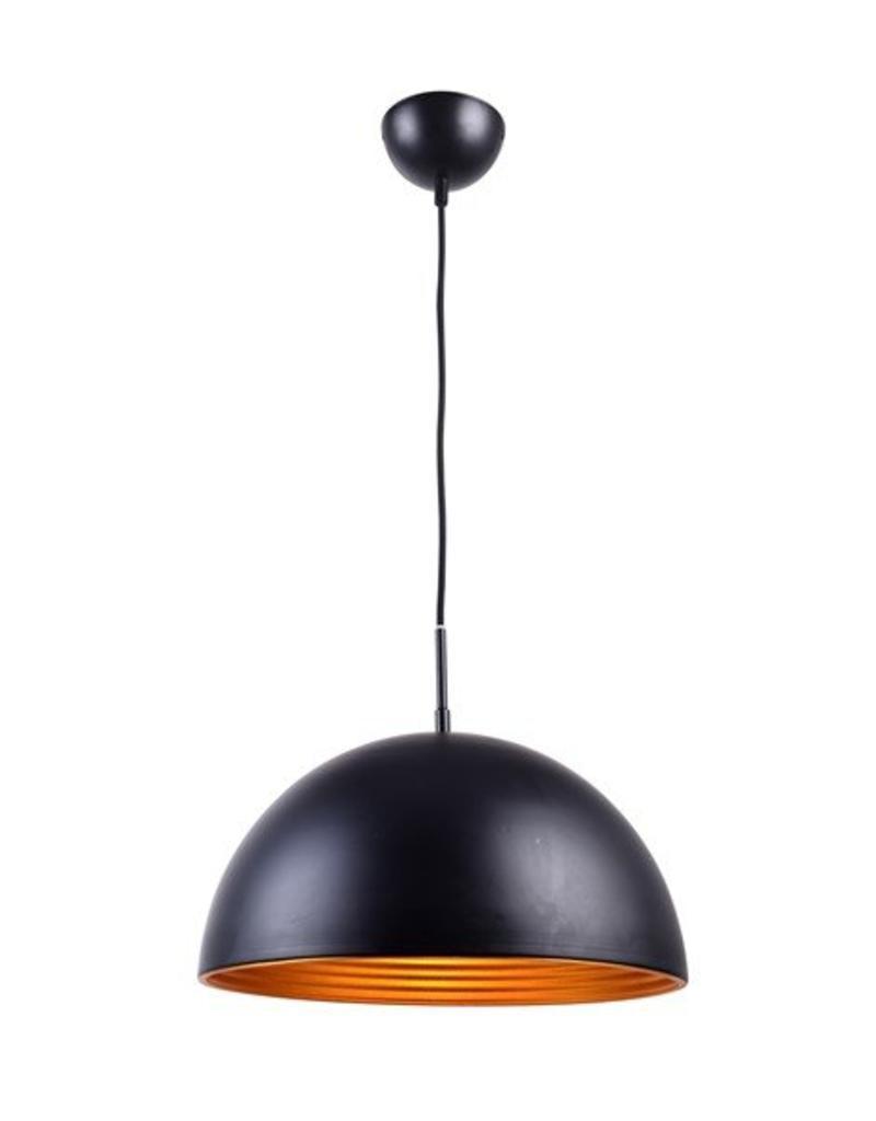 round pendant lighting. Pendant Light Design Round Blackgold 1xE27 400mm Lighting F