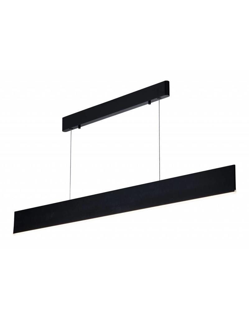 Hanglamp boven eettafel LED strak bruin, wit, zwart 26W   Myplanetled