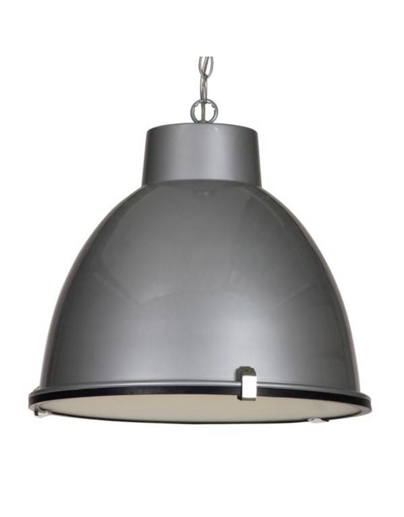 Industrial pendant light white, concrete, grey, black 42cm Ø