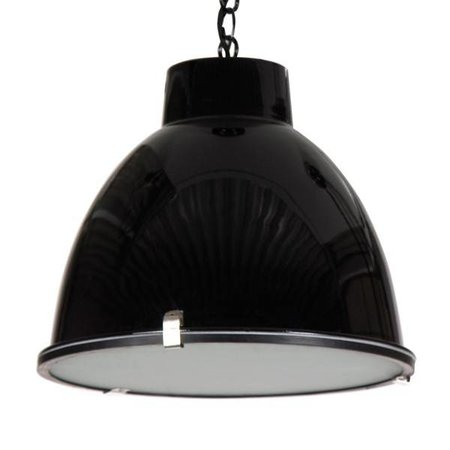 Industrial pendant light white, concrete, grey, black 42cm Ø