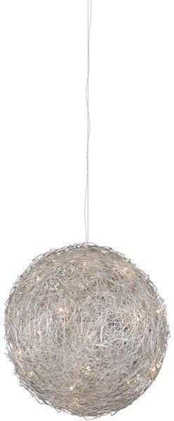 Hanglamp draadbol ijzerdraad 40cm diameter G4x8