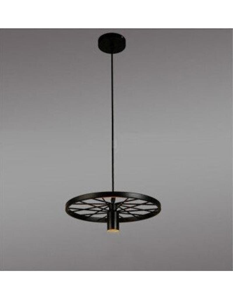 roue devient luminaire suspendu vintage pour clairage led myplanetled. Black Bedroom Furniture Sets. Home Design Ideas