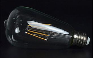 Kooldraadlamp LED lang dimbaar 4W